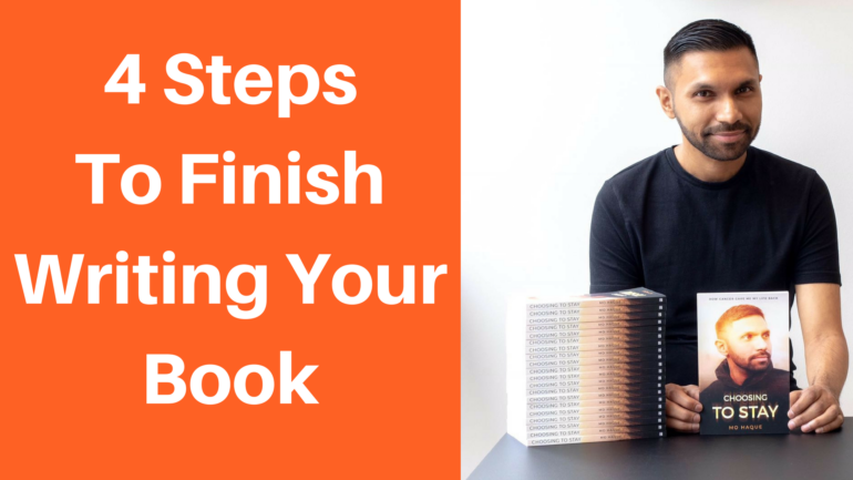 The 4 Steps To Finish Writing The Book